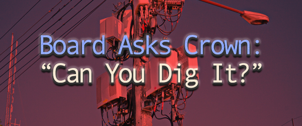 """Board Asks Crown: """"Can You Dig It?"""""""